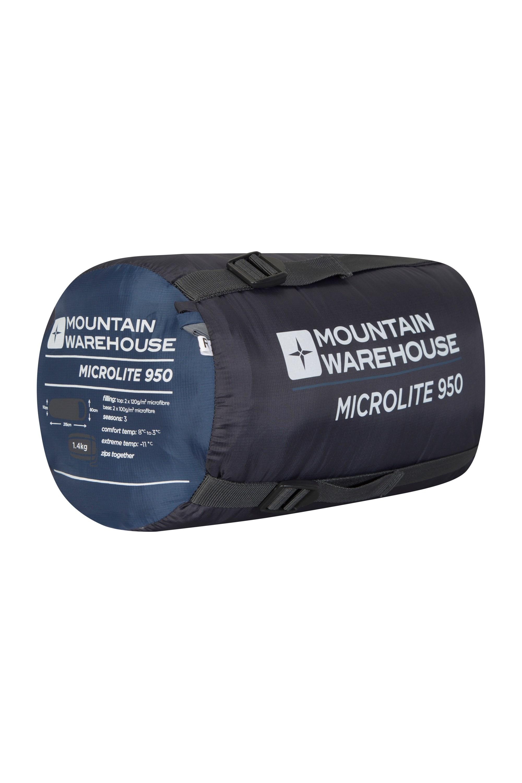 Mountain Warehouse Sac de Couchage Microlite 950