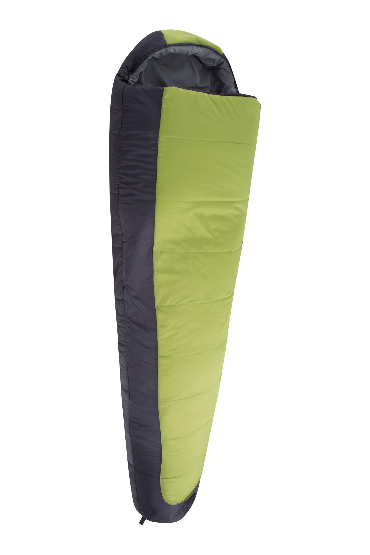 Mountain Warehouse Sleeping Bag Walking Hiking Lightweight Compact Microlite 950 season 3