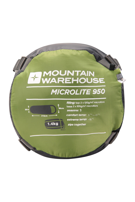 Microlite 950 Sleeping Bag - Green