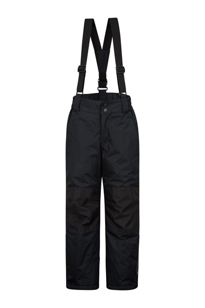 Raptor Kids Snow Pants - Black