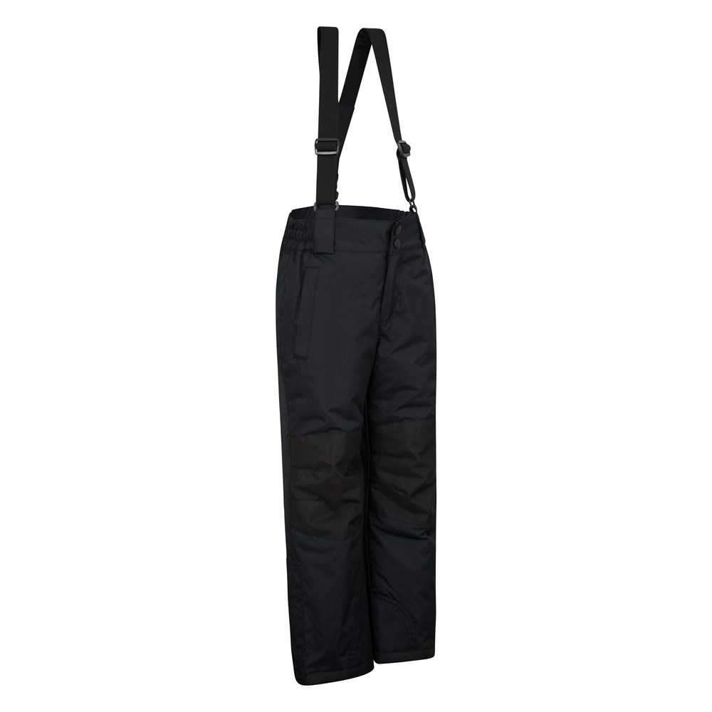 Mountain Warehouse Boys Ski Pants Snowproof and Integrated Snow Gaiters