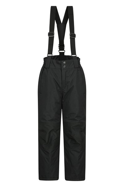 Raptor Kids Snow Pants - Black