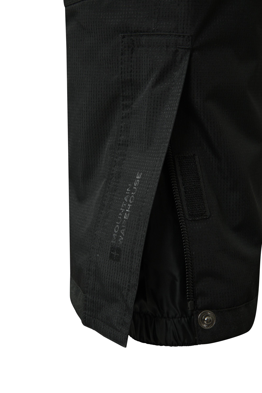 Detachable Suspenders Mountain Warehouse Raptor Kids Snow Ski Pants