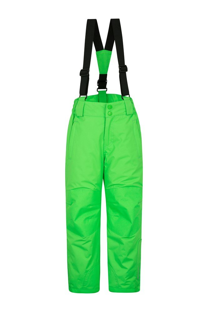 Raptor Kids Snow Pants - Green