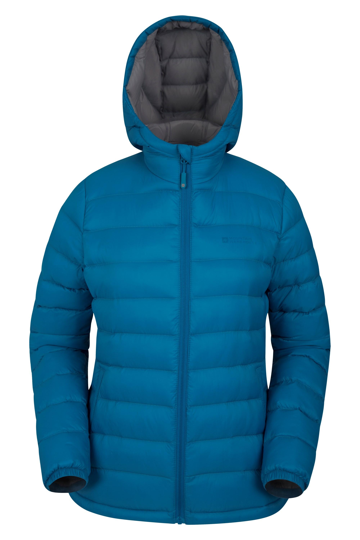 Seasons Womens Padded Jacket - Blue