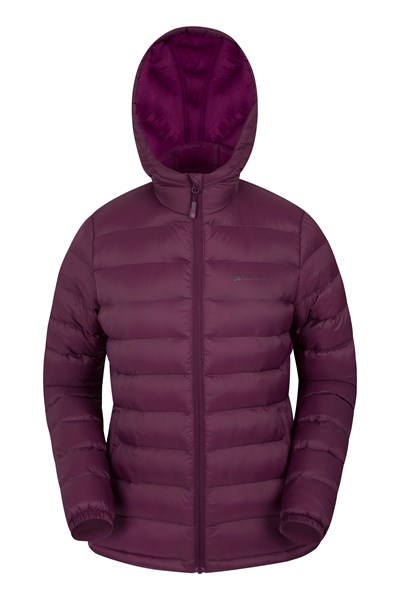 Seasons Womens Padded Jacket - Burgundy