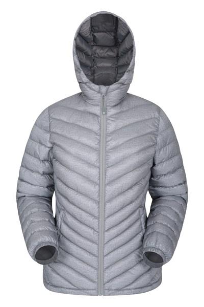 Seasons Womens Padded Jacket - Grey