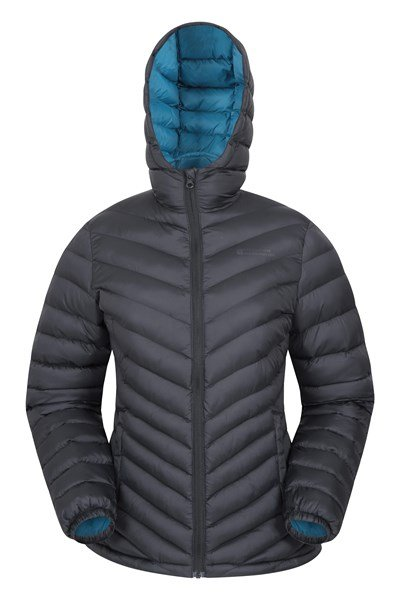 Seasons Womens Padded Jacket - Charcoal
