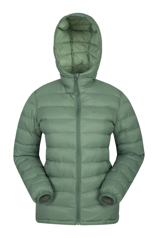 Seasons Womens Padded Jacket - Green