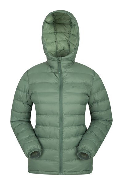 Seasons Womens Padded Jacket - Green