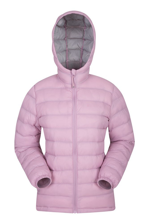 Seasons – damska watowana kurtka  - Pink