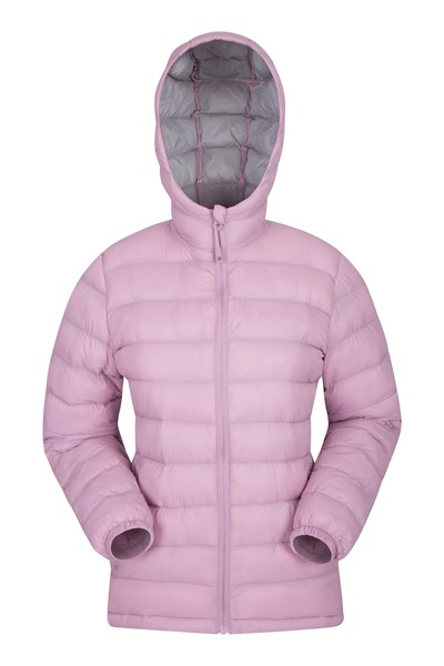 Seasons Womens Padded Jacket - Pink