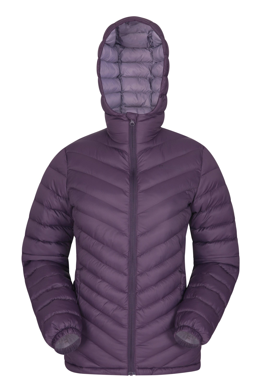 Seasons – damska watowana kurtka  - Purple