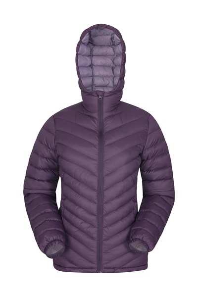 Seasons Womens Padded Jacket - Purple