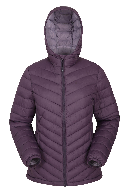 Seasons – damska kurtka pikowana - Purple