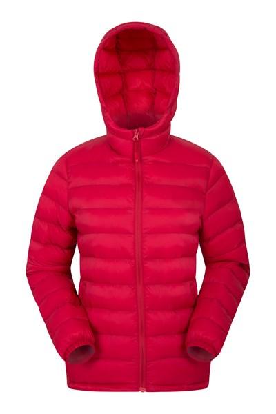 Seasons Womens Padded Jacket - Red