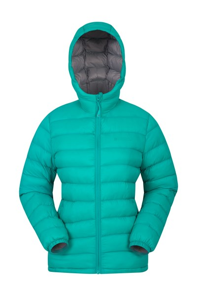 Seasons Womens Padded Jacket - Teal