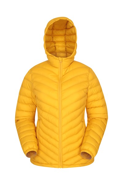Seasons Womens Padded Jacket - Yellow