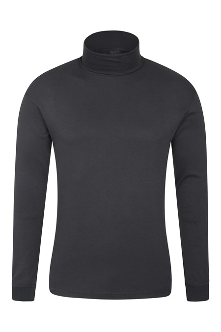 023187 MERIBEL COTTON ROLL NECK BASELAYER TOP