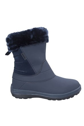 Selkirk Womens Fleece Lined Snow Boots
