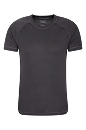 Talus Mens Short Sleeved Round Neck Top