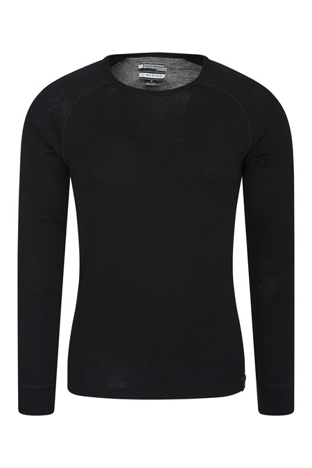 023200 MERINO LS ROUND NECK BASELAYER TOP