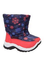 Caribou Printed Junior Snow Boots