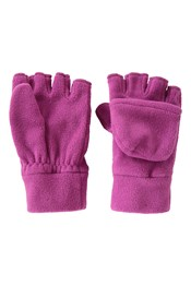 Fingerlose Kinder Fleece-Handschuhe