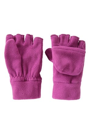 Fingerless Fleece Kids Mitten