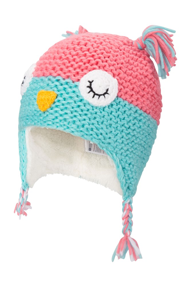 c3dd97cf43d Owl Knitted Kids Hat