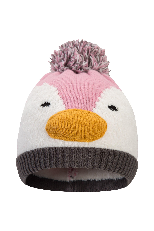 Penguin Kids Hat - Pink