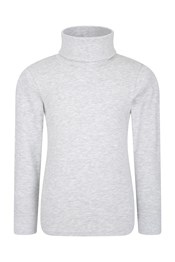 Meribel Kids Cotton Turtle Neck Top