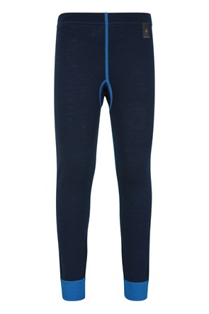 Merino Kids Base Layer Thermal Pants
