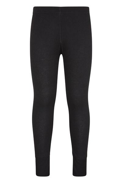 Talus Kids Base Layer Thermal Pants - Black