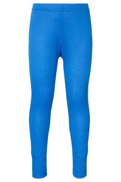 Talus Kids Base Layer Thermal Pants - Blue