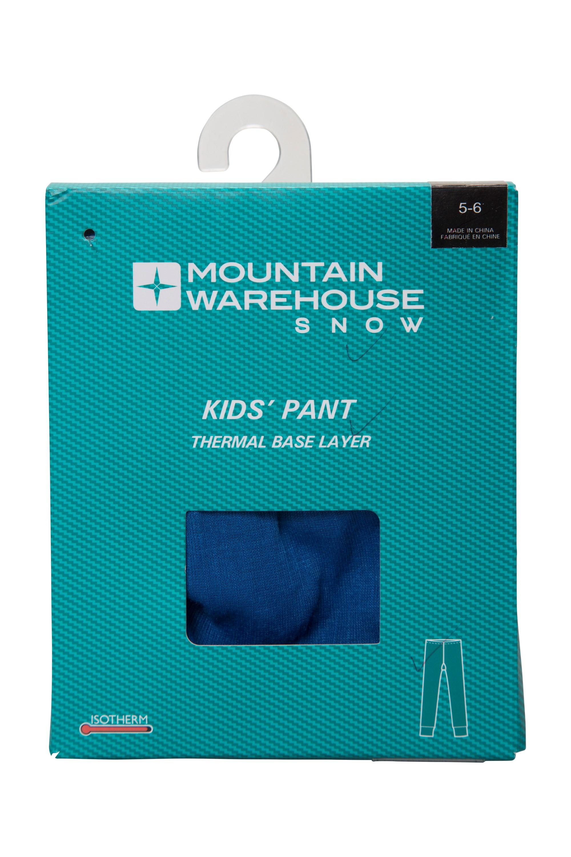 Talus Kids Base Layer Thermal Pants | Mountain Warehouse GB