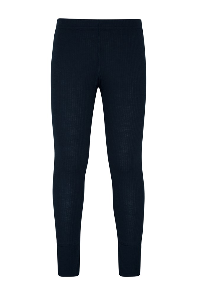 Talus Kids Thermal Pants - Navy
