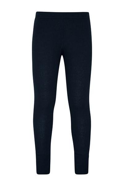 Talus Kids Base Layer Thermal Pants - Navy