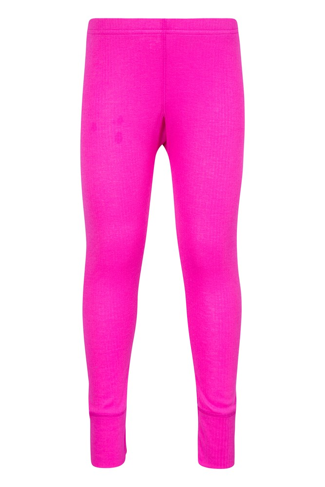 Talus Kids Thermal Pants - Pink