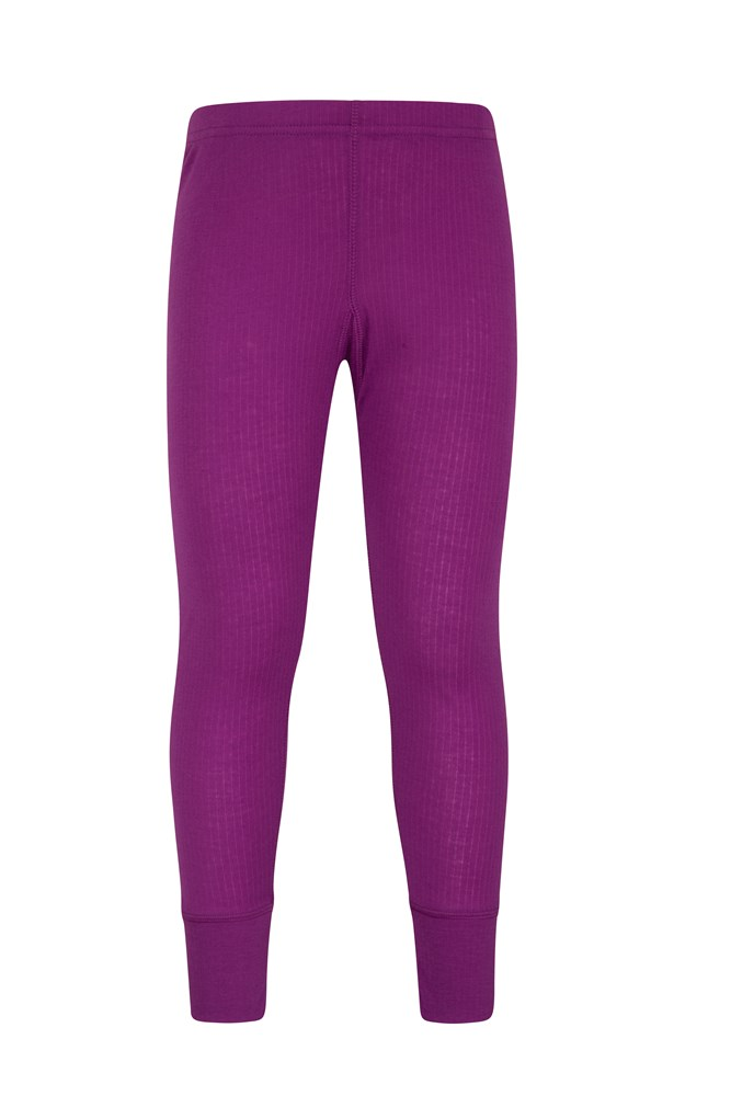 Talus Kids Thermal Pants - Purple