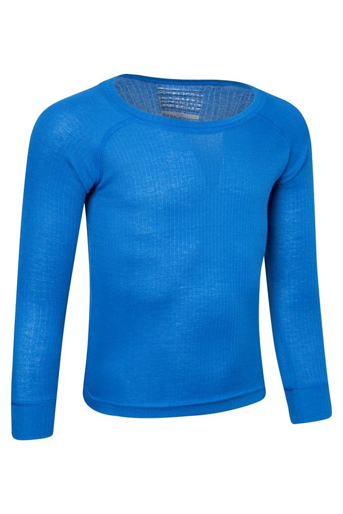 Easy Care Turtle Neck Tee Mountain Warehouse Talus Kids Roll Neck Top for Winter Hiking Walking Lightweight Quick Wicking Jumper Warm Thermal Baselayer
