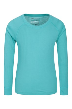 Talus Kids Round Neck Base Layer Top