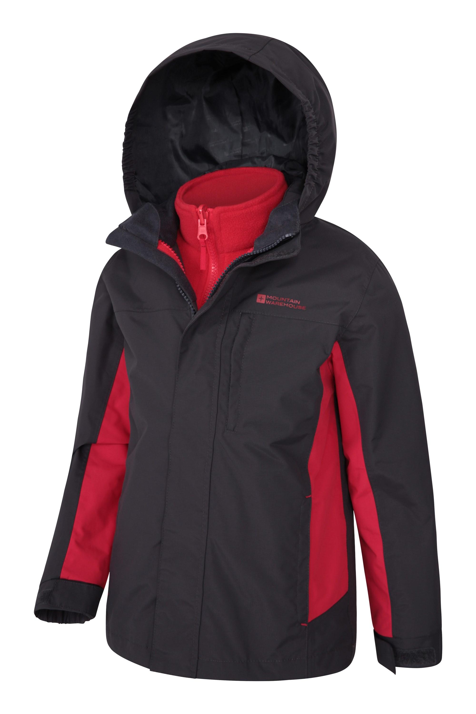 23a53ce87352 Cannonball 3 in 1 Kids Waterproof Jacket