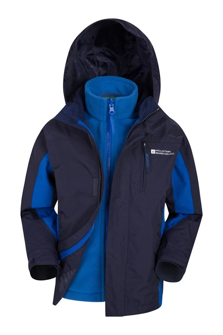 023266 CANNONBALL KIDS 3 IN 1 WATERPROOF JACKET