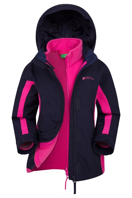 023267 LIGHTNING KIDS 3 IN 1 WATERPROOF JACKET