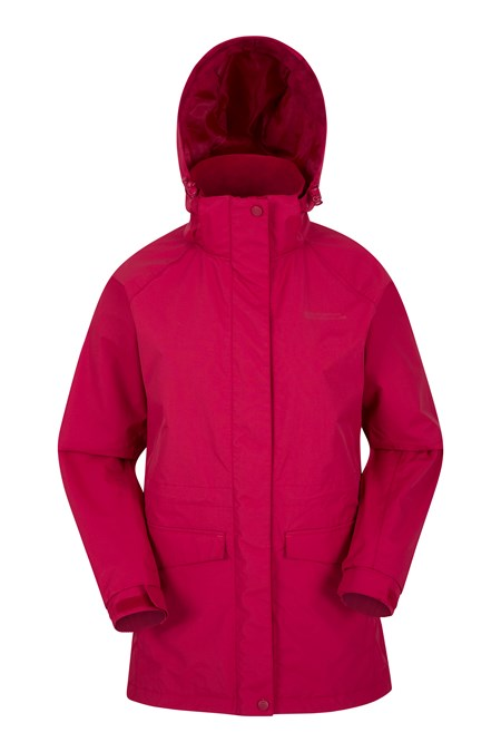 Glacier Extreme Womens Long Waterproof Jacket | Mountain Warehouse CA