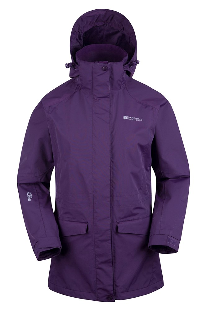 Glacier Extreme Womens Long Waterproof Jacket | Mountain Warehouse US