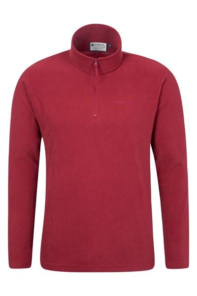 Mens Camber Fleece - Burgundy