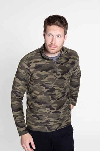 Mens Camber Fleece - Green