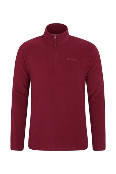 Mens Camber Fleece - Dark Red